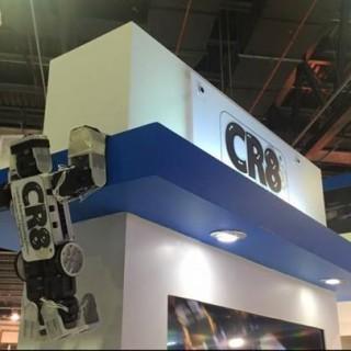 A robot of Cr8tiv Robotix